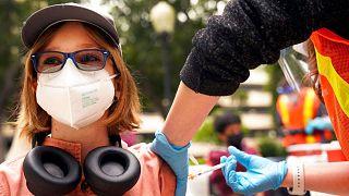 تزریق واکسن کرونا در آمریکا