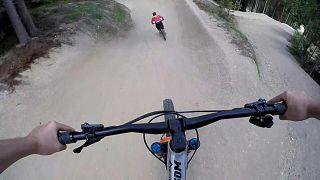 منتجع للتزلج في قرية سانكت كورونا آم فكسل يتحول إلى مسار للدرجات الهوائية