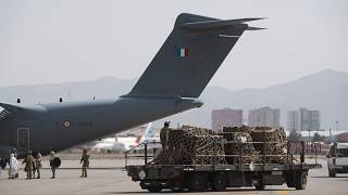 European nations are scarmbling to evacuate citizens and Afghan helpers from Kabul.