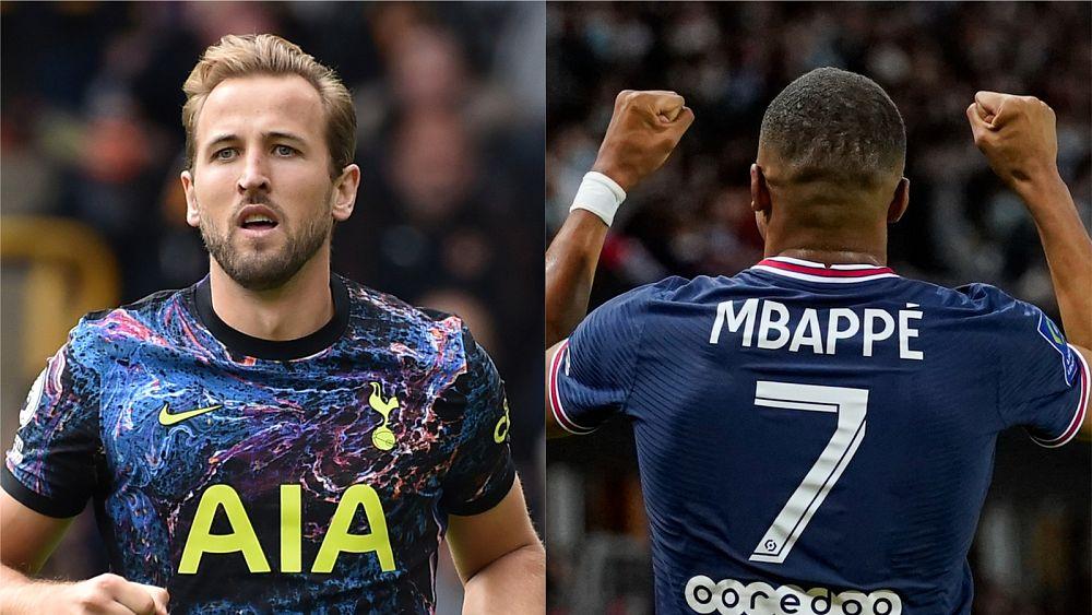 Kane se queda en Tottenham mientras el Real Madrid mira a la estrella del PSG, Mbappé