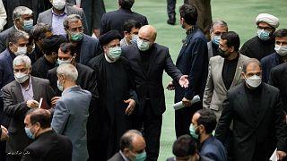 ابراهیم رئیسی در مجلس ایران
