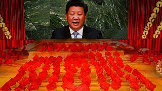 Hszi Csin-ping a Kínai Kommunista Párt megalapításának századik évfordulóján beszél