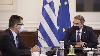 Κυριάκος Μητσοτάκης - Γιάνεζ Λέναρτσιτς