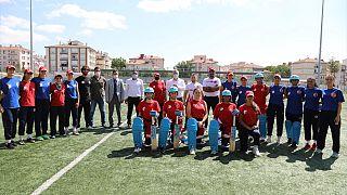 Türkiye A Milli Kadın Kriket Takımı hazırlık kampında