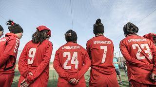 زنان فوتبالیست افغان در سال ۲۰۱۸