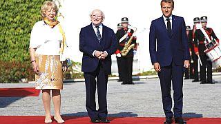 Macron vola a Dublino. Sul tavolo Afghanistan e tassazione multinazionali
