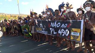 Tribos brasileiras lutam pelo direito à terra