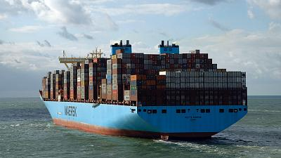 Maersk is replacing container ships approaching their end of life with greener vessels