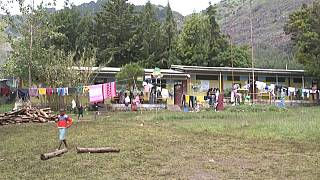 Ethiopia: Survivors gather in displacement camp after Tigray rebel advance