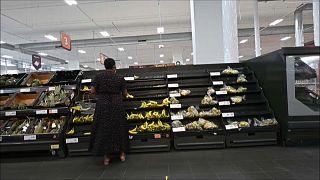 Produtos alimentares começam a escassear