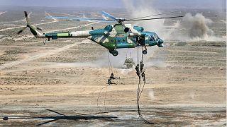 Rus savaş helikopterleri