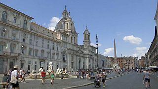 Una cartolina da Piazza Navona.