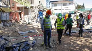 9 dead after crane collapses in Kenya's capital, police say