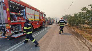 Ancora incendi in Grecia: arrivano i pompieri romeni