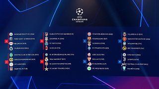 Les groupes de la Ligue des champions 2021/2022 à l'issue du tirage au sort à Istanbul, le 26 août 2021