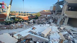 The building collapsed on Wednesday evening in Spanish province of Castellón.