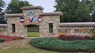 La base de Fort McCoy, dans le Wisconsin