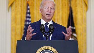 Joe Biden nach dem Anschlag in Kabul