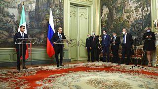 """Встреча Лаврова и Ди Майо в Риме: """"Урок надо извлекать"""""""