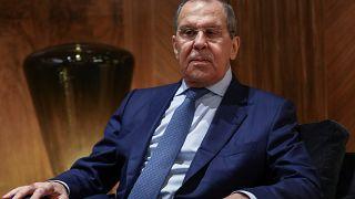 El ministro de Asuntos Exteriores ruso Serguéi Lavrov.