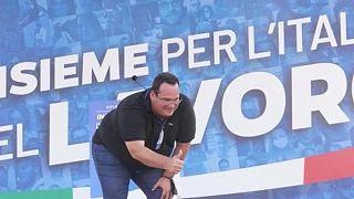 كلاوديو دوريغون سكرتير الدولة للاقتصاد والمالية العضو في حزب الرابطة اليميني المتطرف