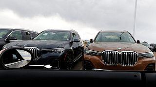 X7 sports-utility vehicles BMW