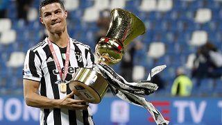 لاعب نادي يوفنتوس الإيطالي البرتغالي كريستيانو رونالدو