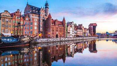 Gdansk, Poland is becoming increasingly popular with expats