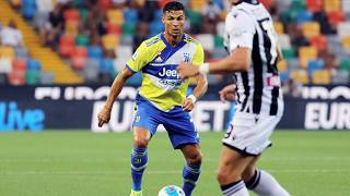 Juventus' Cristiano Ronaldo during the Serie A match between Udinese and Juventus