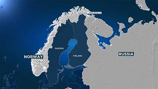 The sign first appeared in the extreme north-east of Norway and was first reported by the Barents Observer.