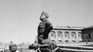 İtalyan diktatör Benito Mussolini