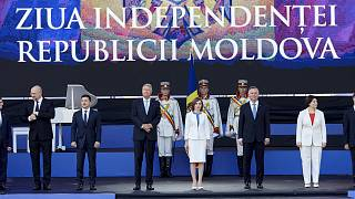 Торжественная церемония в Кишиневе