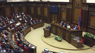 Сессия в парламенте Армении
