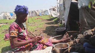 RDC : les victimes de l'éruption de Nyiragongo redoutent les pluies
