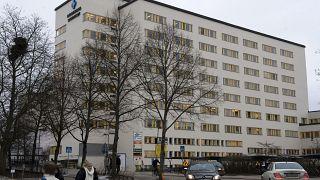 مستشفى الجامعي في إنكوبينج، السويد.