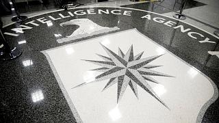 the main lobby of the Central Intelligence Agency