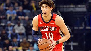 Jaxson Hayes, NBA'in New Orleans Pelicans takımında forma giyiyor.