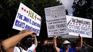 Konzervatív polgárjogi aktivisták tiltakoztak az amerikai választási törvény megreformálása ellen