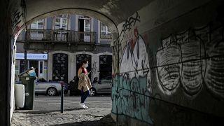Улица Лиссабона, 20 августа 2021 года