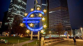 ساختمان بانک مرکزی اروپا در فرانکفورت آلمان