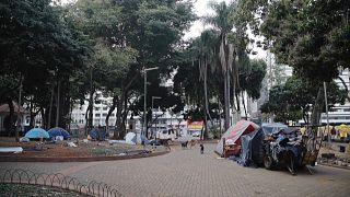 Sem-abrigo em São Paulo
