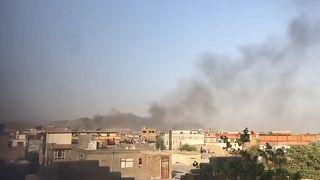Εικόνα από βίντεο με τη νέα έκρηξη στην Καμπούλ