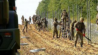 Polen: Mindestens 28 Migranten sitzen an Grenze zu Belarus fest