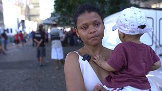 Según estimaciones independientes, hay 35.000 personas sin hogar en Sao Paulo, diez mil más que en el último recuento de 2019.