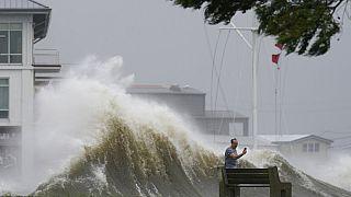 L'ouragan Ida a touché la Nouvelle-Orléans (Louisiane), le 29/08/2021.