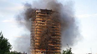 Πυρκαγιά σε ουρανοξύστη στο Μιλάνο