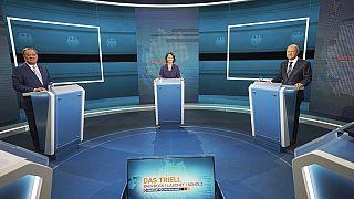 German elections debate