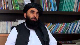 ذبیحالله مجاهد، سخنگوی شبهنظامیان طالبان