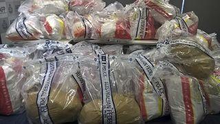 ميثامفيتامين   ومخدرات أخرى، تم مصادرتها من نقطة على الحدود في أستراليا.