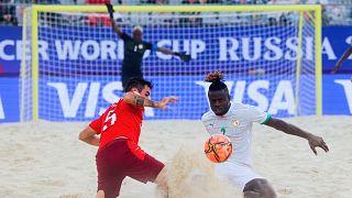 Mondial de beach soccer : le Sénégal échoue au pied du podium
